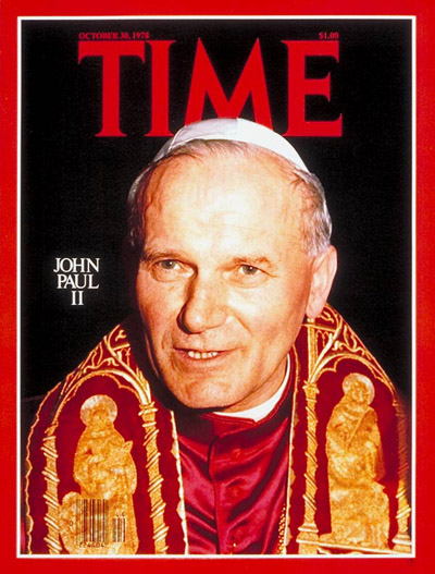 Image result for john paul ii elected pope